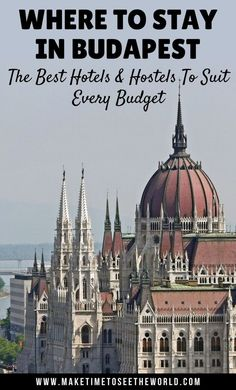 Where to Stay in Budapest: The Best Hotels and Hostels to suit every budget. Let us help you find the perfect place to stay for your city break in Budapest, Hungary #ITravel