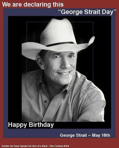 Happy 60th Birthday George, from Bandera, TX!! (60??? ...really?!!?!) :-/ No matter.......We'll love you forever!! :-) --