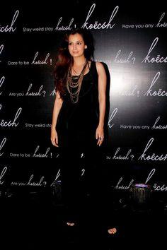 Dia Mirza at Fashion Koecsh Launch.