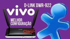 Tutorial passo-a-passo de Como configurar Chip VIVO no Roteador D-Link DWR-922 da CLARO Desbloqueado! Funciona no chip Oi, CLARO e TIM. Onde comprar?