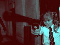 Hit-Girl (Chloe Grace Moretz) from Kick Ass.