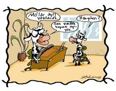 Mo'lar Ayrı Yazılacak Karikatürü Erdem Toker