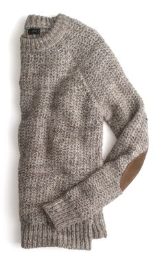 J.Crew Sweater...love the patches
