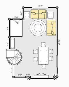 Living Room Floor Plan