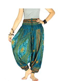 Gypsy pants Palazzo pants Hippie clothes Hippie by SalwarPants