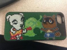 Cross Stitched Animal Crossing iPhone Case