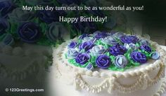 A warm birthday wish along with some beautiful flowers. Free online A Day That Blossoms With Joy ecards on Birthday Birthday Greetings, Birthday Celebration, Birthday Wishes, Birthday Cards, Boy Birthday, Happy Birthday, Special Day, Beautiful Flowers, Joy