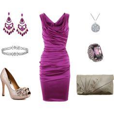 Gorgeous Fuchsia Dress for Fancy Smancy DInner