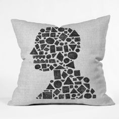 Nick Nelson Untitled Silhouette 1 Outdoor Throw Pillow | DENY Designs Home Accessories