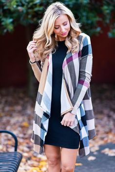 20ece54806 It can t get any better than this plaid cardigan! The colors and the