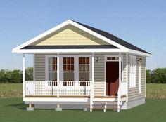 18x30 House -- #18X30H4F -- 540 sq ft - Excellent Floor Plans
