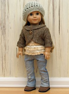 American Girl Doll Clothes-New Fall/Winter Collection by The Vintage Doll Trunk