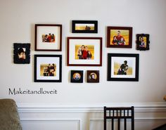 I love displaying my pictures and what a great way to avoid buying those ridiculously expensive picture templates!