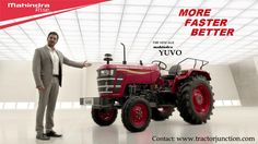 #MahindraYuvo for your every need, available from 32 to 45HP. Free request a demo right now! http://bit.ly/1Rpynay