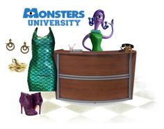 """""""Celia monsters university"""" by jennymccosh ❤ liked on Polyvore featuring moda, INC International Concepts, OFM, Louise et Cie, Roberto Cavalli, women's clothing, women, female, woman y misses"""