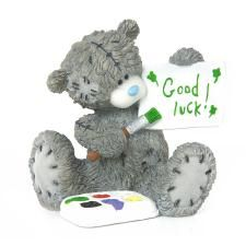 Made Just For You Good Luck Me to You Bear Figurine