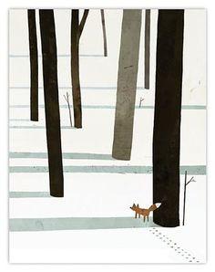 Fox in the snow - Jon Klassen