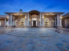 725 Uvas Springs Rd, Hatch, NM 87937 | MLS #1900036 | Zillow Exterior Design, Interior And Exterior, Huge Mansions, Luxury Mansions, Dream Mansion, Dream Houses, Modern Villa Design, Expensive Houses, My Dream Home