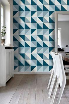 Tile Stickers, Refresh Blue, Tile Sticker, Tile Decal, for Kitchen Backsplash, Tile Decals, for Bathroom, PACK OF 56, SKU:RefreshTiles