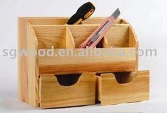 Organizador de escritorio caja de madera / organizador de madera-imagen-Otros Organizadores Escritorio-Identificación del producto:219109475-spanish.alibaba.com