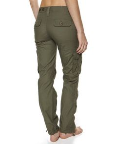 SURFSTITCH - WOMENS - PANTS - CARGO - JUST ADD SUGAR SUBWAY PANT - KHAKI