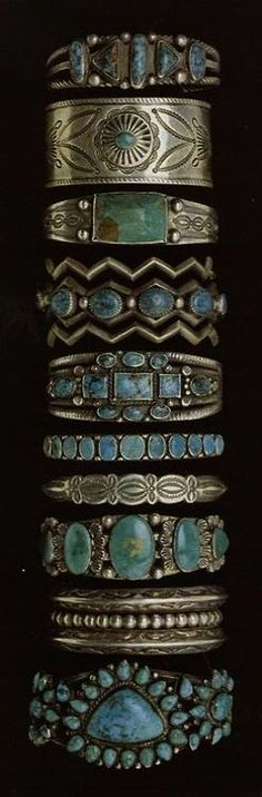 American Hippie Bohemian Boho Bohéme Feathers Gypsy Spirit Style- Jewelry .. Turquoise Bracelets