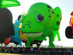 Welcome Pilot Todd Monahan of Glens Falls, New York. Todd flies the balloon, Kermie the Frog. #BalloonFiesta