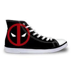 Deadpool Canvas Shoes