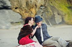 Bundoran Beach Engagement Shoot