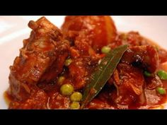 Rabbit stew (stuffat tal-fenek) and spaghetti - Maltese Cuisine - YouTube