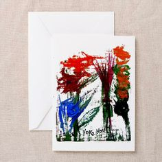 i love you flowers greeting cards