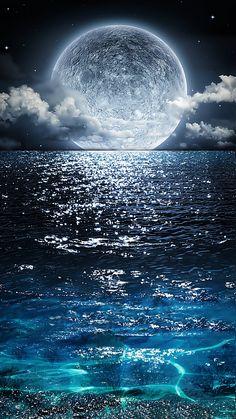 moonlight-sea