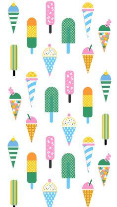 Iphone wallpaper ice cream