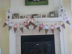 Raising Sweet Souls....: Homemade Birthday Banner