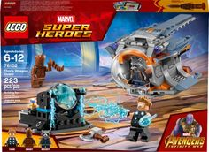 LEGO Marvel Super Heroes Avengers: Infinity War Thor's Weapon Quest 76102 Building Kit Piece) in Toys & Games. The Avengers, Avengers Movies, Comic Movies, Lego Sets, Lego Building Sets, Lego Spiderman, Thor, Lego Duplo, Lego Minifigs