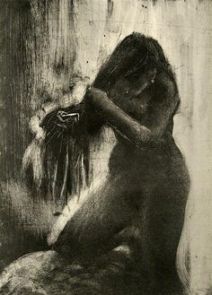 Monoprint by Degas by Jewett Art Gallery, via Flickr