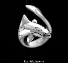 Large Orca Whale Ring by RasnickJewelry on Etsy, $150.00