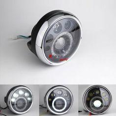 "Emarks 7"" LED motorcycle headlight Lamp Fit SUZUKI SV400 GSX SV650 GS500 Van Van"