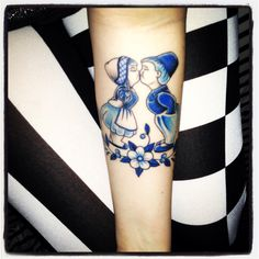 Delft tattoo - OMG put this one at the top of the list!