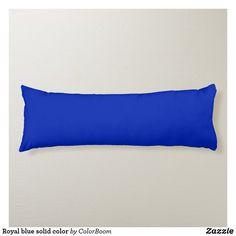 Royal blue solid color body pillow Navy Blue Pillows, Blue Cushions, Blue Throw Pillows, Blue Living Room Decor, Blue Bodies, Decorative Cushions, Aqua Blue, Royal Blue, Sky