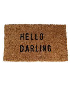 Hello Darling - Cute Rug!