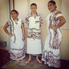 Lotu Tamaiti White Sunday/Childrens Day Custom puletasi, ofutino, and muumuu. #