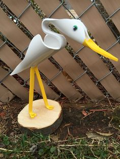 """Small Crane (about 12"""" tall)"""