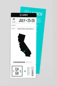 Identity for an all-new, California-based apparel trade show, created by Wedge & Lever, a small studio from San Diego, California. The identity includes a slick logo, an invitation, tickets and a set of notebooks.
