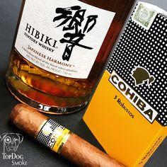 No better way to tackle the weekend... #topdogsmoke #cubancigar #cubancigars #cohiba #santory #whiskey #cigarnoise #cigarbossoftheday #cigarlife #cigarworld #cigar #cigars #cigarsociety #cigarlover #cigarlifestyle #cigarsnob #cigaroftheday @cohibahabana @cohiba_habana @cohibacigars @cohiba_ambassador @suntorywhisky_hibiki
