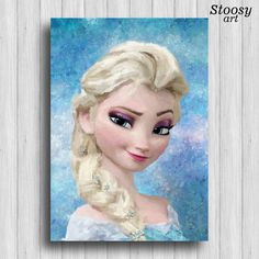 Hey, I found this really awesome Etsy listing at https://www.etsy.com/listing/258545369/frozen-elsa-poster-disney-princess-decor