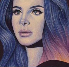Image about art in Lana Del Rey🙌🌸💕 by WitchySoul Endless Summer Tour, Lana Rey, Traditional Tattoo Flowers, War Bonnet, Paintings Famous, Brooklyn Baby, Light Of My Life, Queen, Our Lady