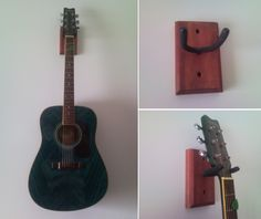 'Make Your Own Guitar Wall Mount...!' (via hacked_it/hack_edit)