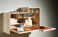 Falling Dansu / O'Donnell + Tuomey & Joseph Walsh | Design d'objet  I want that desk!