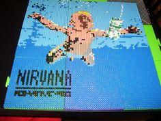 Nevermind Nirvana hama beads by ShampooTeacher